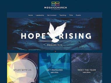 web design hope rising