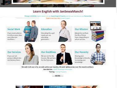 LogicBolt Technology (P) Ltd:Learn English with JanSewaManch