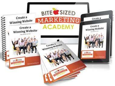 Website Design + Book cover designs.
