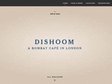 Dishoom Bombay Cafe