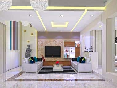 RESIDENTIAL PROJECT (BUNGALOW INTERIOR)