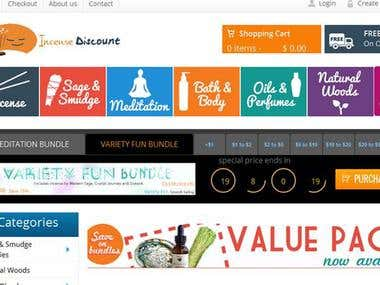 seo for Incensediscount - Online Shopping