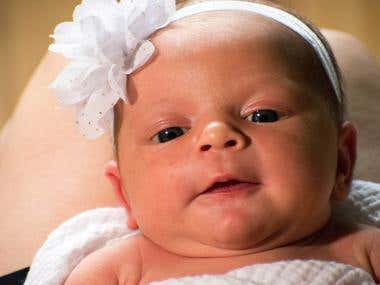 Miya's newborn photos!
