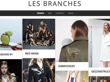 Les branches / Fashion & trends blog