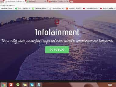 My own Website