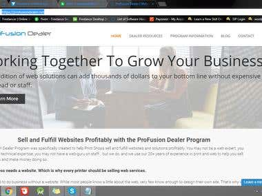 My first Wordpress Project