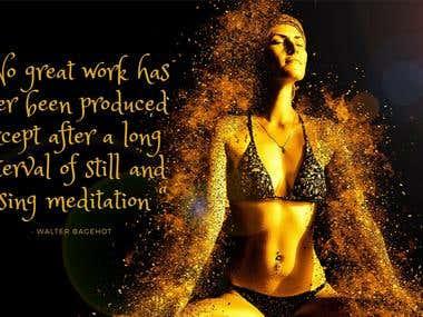 #Work#Meditation