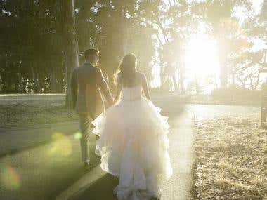 Wedding Photography Batch Processing and Retouching