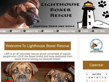 light house boxer rescue