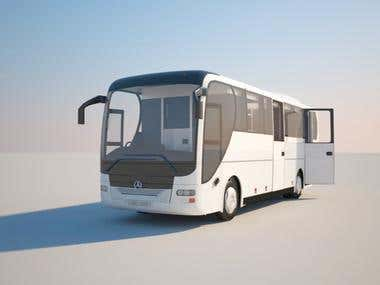 3d Bus modeling