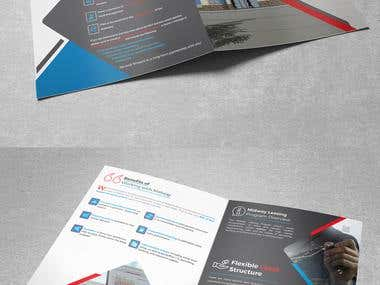 Brochure Design Mock-up