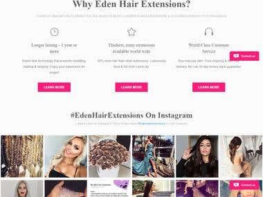 Eden hair Extension