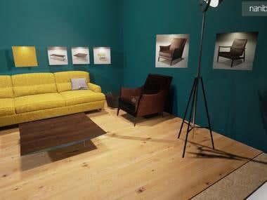 VR Customizable interior