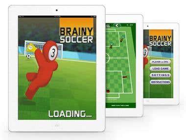 Brainy Soccer - Design & Game Development