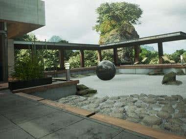 VR Zen Garden