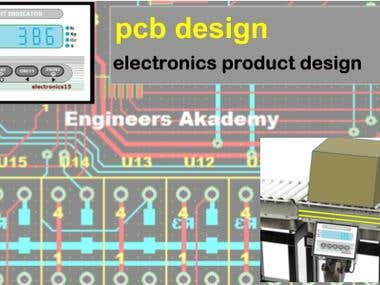 Design of PCB, Electronics Products & Automation Systems