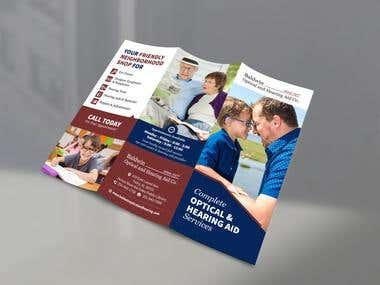 Design a brochure (3 Fold)
