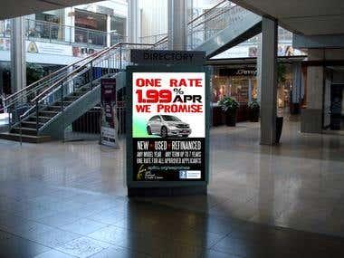 Design mall poster
