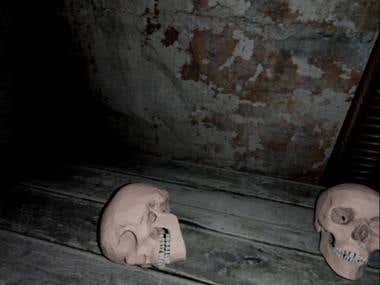 VR horror room
