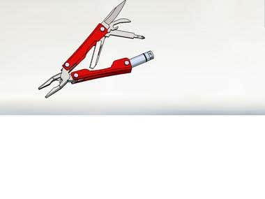 Multi tool knife