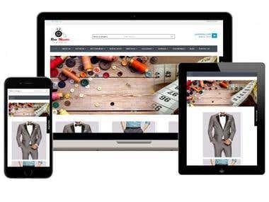 Web Development || http://ronmastertailors.com.sg/
