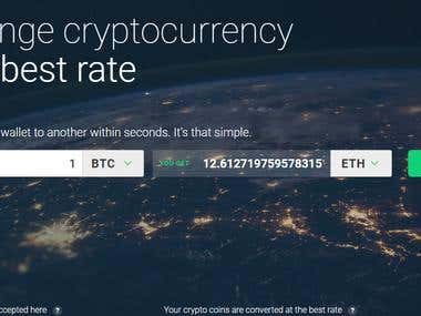 CrytoCurrency Site