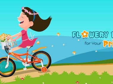 Brooks Bicycles Creative Website Banner