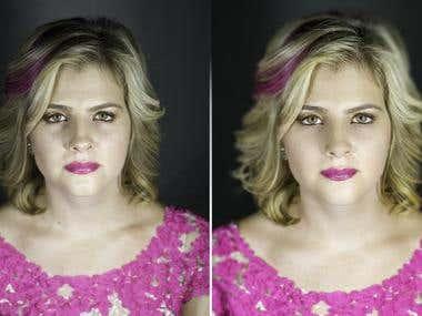 Portrait/Headshot Retouching