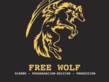 Logo de free wolf