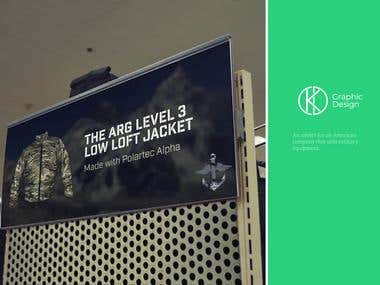 Advert For A Military Jacket