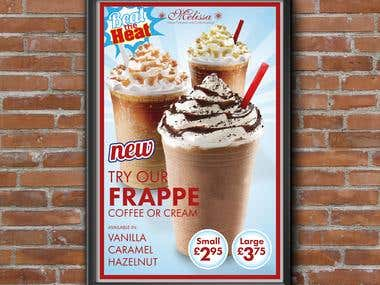 Ice Cold Frappe Drinks