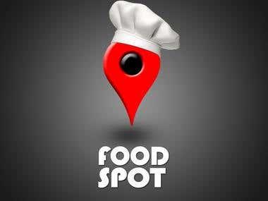 App UI , FOOD SPOT.
