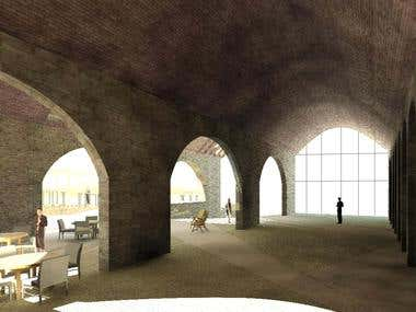 Architecture - Karoo Retreat - Exhibition space