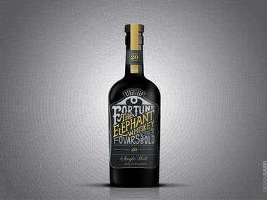 Elephant Whiskey Branding