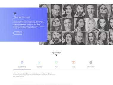 web page design and devlopment