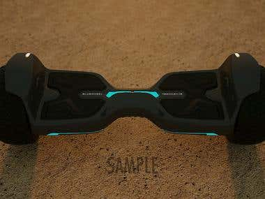 3D Animation, Hoverboard
