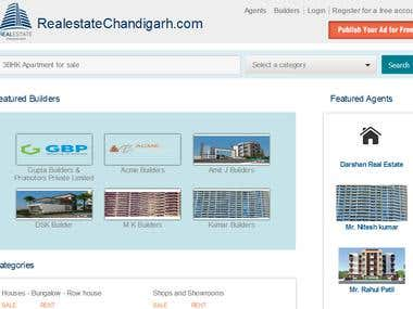 Osclass Realestate site Development.