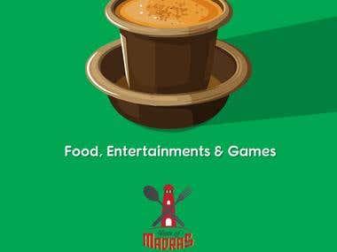 Taste of Madras -- Event Branding Poster