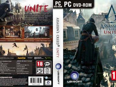 game dvd cover