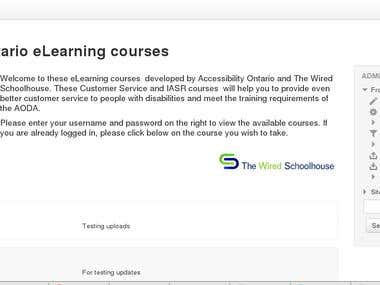 Accessibility Ontario eLearning courses