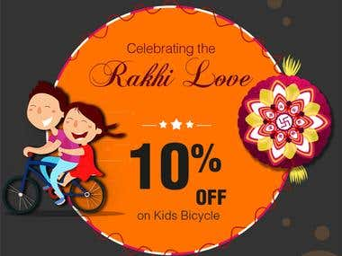 Brooks Bicycles Raksha Bandhan Facebook Creative