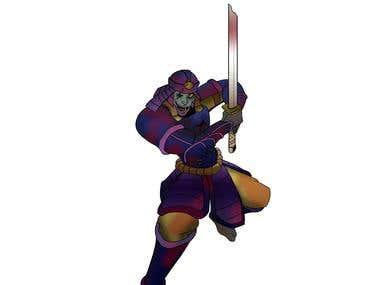 The Undead Samurai