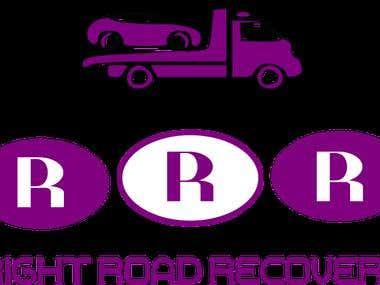 SAMPLE LOGO DESIGN RIGHT ROAD RECOVERY