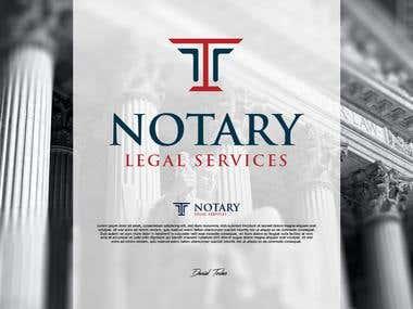 Logo for a Notariate services