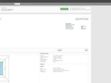 Window Design App, Backbone Marionette + Node.js