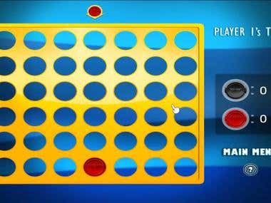 Node.js + Socket.io, Online Connect 4 Game for 2 players