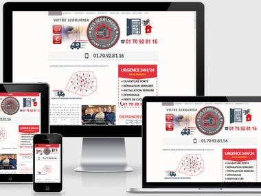 Site web http://www.urgenceserrurier-paris.fr/