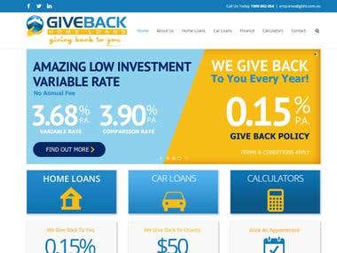 Give Back Home Loans