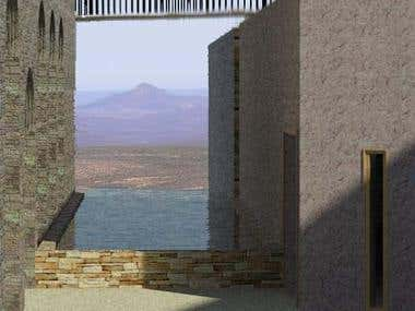 Architecture - Karoo Retreat - Volcano view
