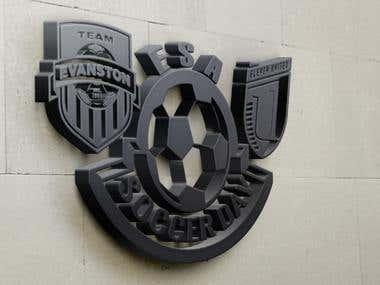 ESA Soccer Day Logo